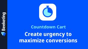 Countdown Cart | Countdown Timer, Stock Countdown & Social Proof