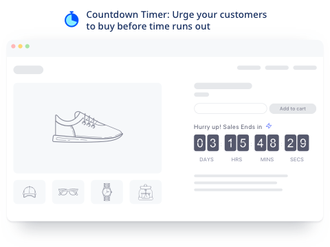 Countdown Cart | Countdown Timer, Stock Countdown & Social Proof