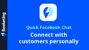 Quick Facebook Chat | Messenger Live Chat App