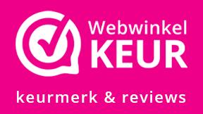 WebwinkelKeur koppeling: Keurmerk + Reviews