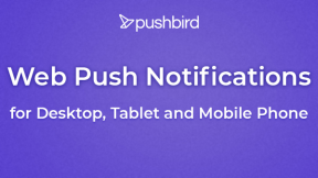 PushBird: Smart Web Push Notifications