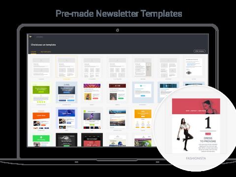 Mailjet Newsletter App