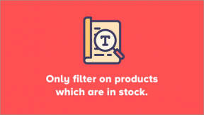 Filter on Stock