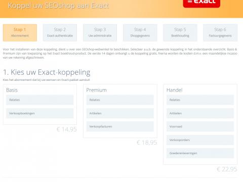 Exact Online Handel ERP