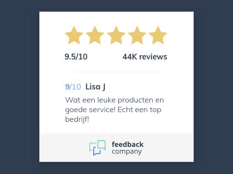 Feedback Company - Product Reviews & Ratings