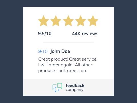 Feedback Company - Merchant Reviews & Ratings