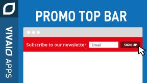 Promo Top Bar